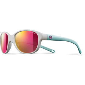 Julbo Romy Spectron 3CF Sunglasses 4-8Y Kinder shiny white/blue-multilayer pink